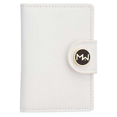 Mai Couture White Papier Wallet