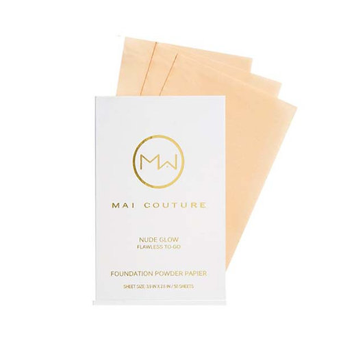 Mai Couture Foundation Powder Papier - Nude Glow
