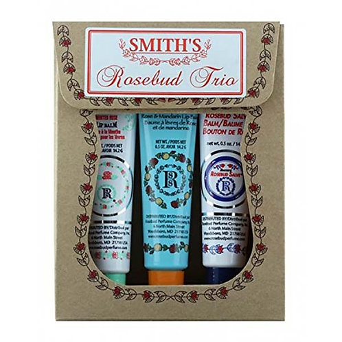 Smith's Rosebud  Vintage Tube Trio