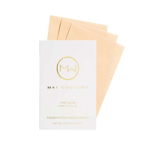 Mai Couture Foundation Powder Papier - Fair Glow