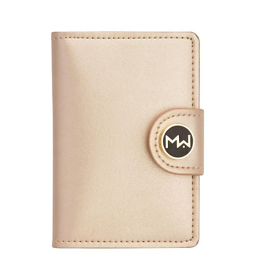 Mai Couture Gold Papier Wallet