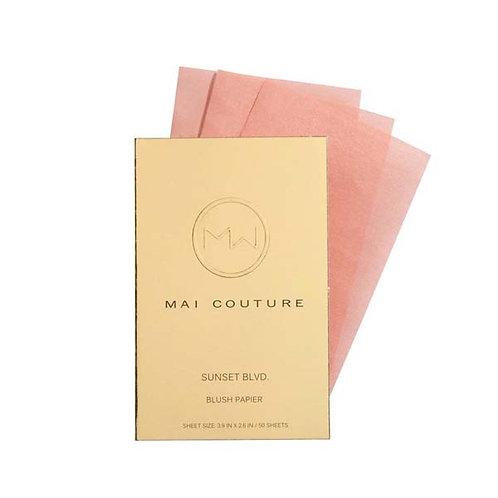 Mai Couture Blush Papier - Sunset Boulevard