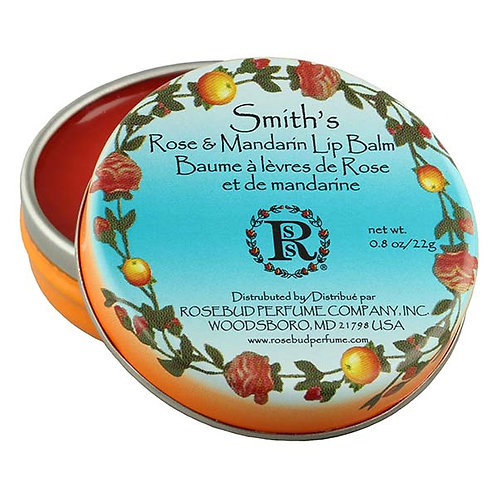 Smith's Rosebud Rose & Mandarin Lip Balm