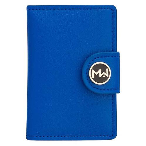 Mai Couture Royal Blue Papier Wallet