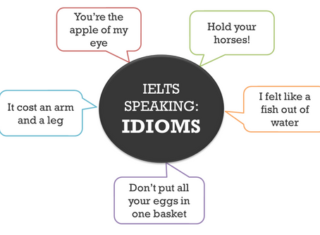 Key Tips for IELTS Speaking: IDIOMS!