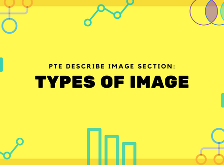 PTE Describe Image Section: Types of Images