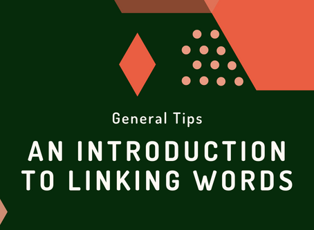 General Tips: An Introduction to Linking Words