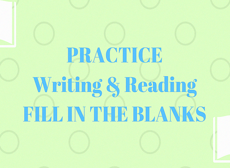 PTE Practice: Reading and Writing Fill in the Blanks