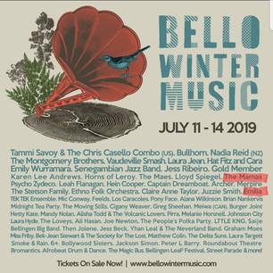 Bello Winter Music Festival