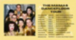 Dancefloor Tour Poster - Horizontal UPDA