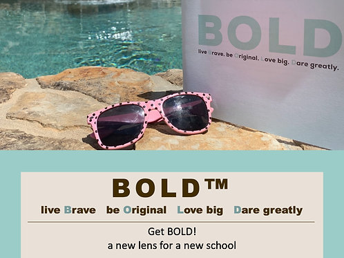 BOLD™ Camp for rising 6th graders