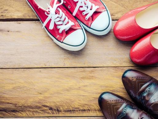 Showroom com fornecedores de calçados no atacado