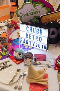 Creative Event Management - Incentive Conference Chubb Retro