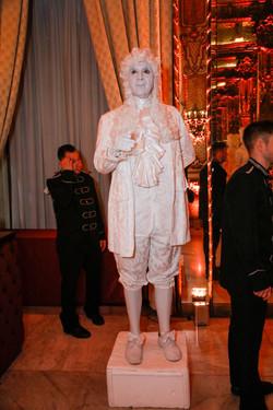 Venetial Statue for Corporate Gala Dinner