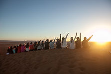 Creative Event Management - Themed Tours Group in Sand Dunes