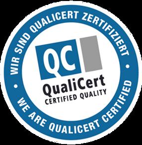 Wir sind Qualicert zertifiziert!