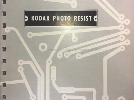 KPR Kodak Photo Resist - Industrial Uses for KPR - Original Manual