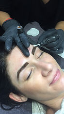 Perth feather touch tattoo brows