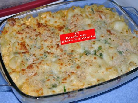 Macaroni en maalvleis gereg