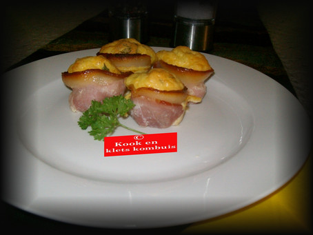 Bacon en Roereier Nessies..