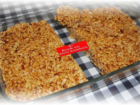 Rice Crispie Blokkies