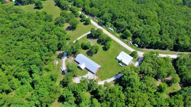 aerial-photography-barn-dirt-road-155779