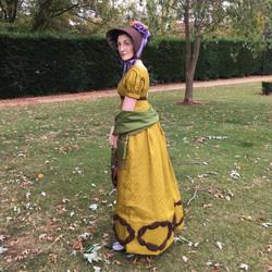 1830s Regency Gown
