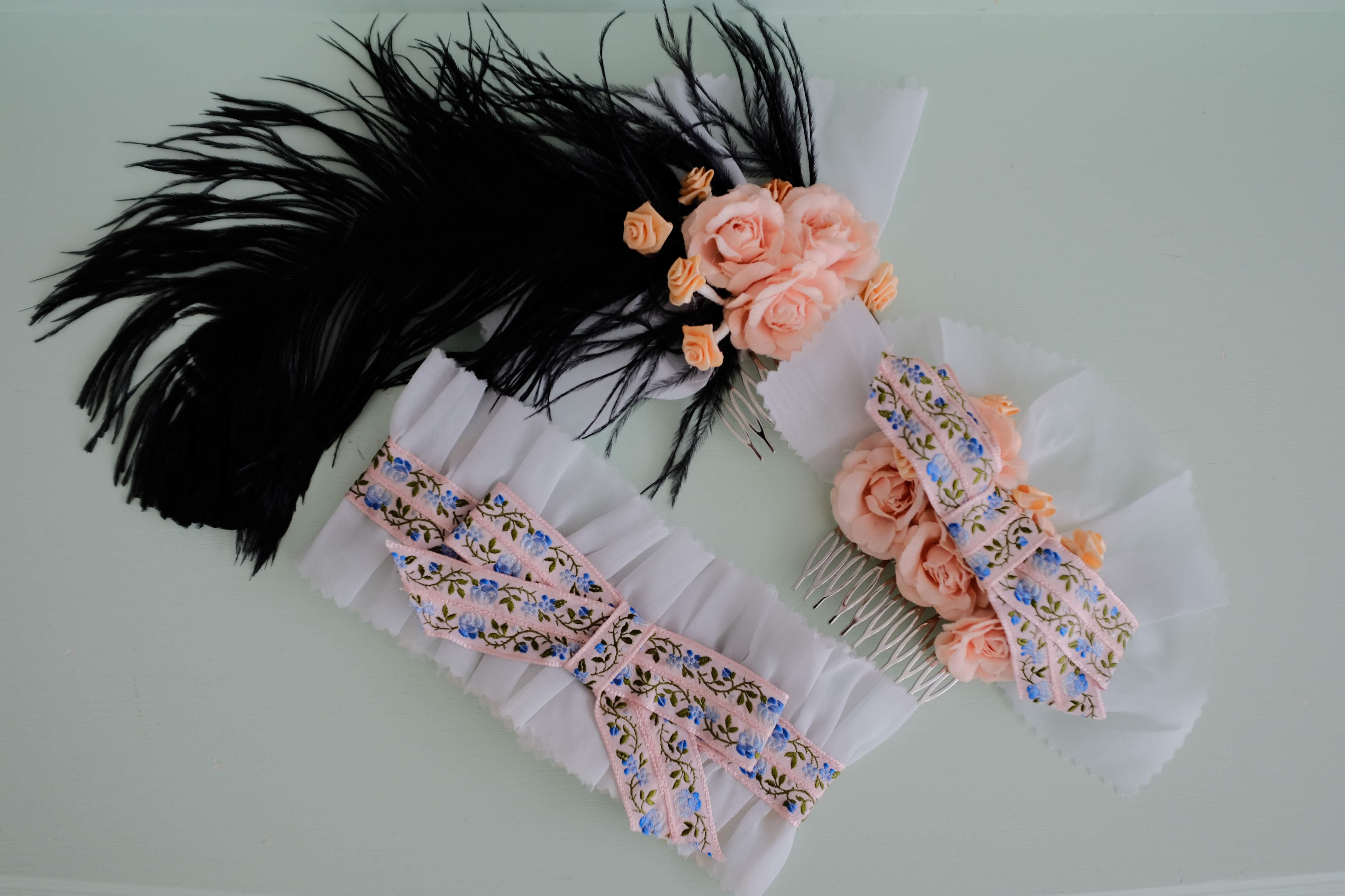 """1830s """"Fancy Dress"""" Accessories"""