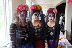 Dia De Los Muertos Ladies