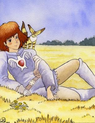 """Nausicaa and Teto"" - The Ghibli Collection"