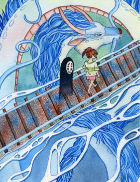 """""""Day of the River"""" - The Ghibli Collection"""