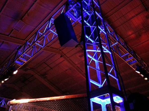 MMA Octagon Lighting