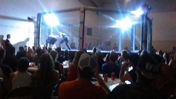 MMA DJ basic ring setup