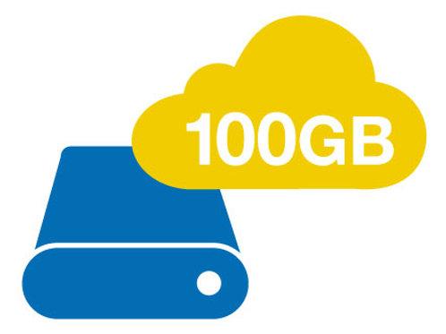 גיבוי שנתי שרת עד 100 GB
