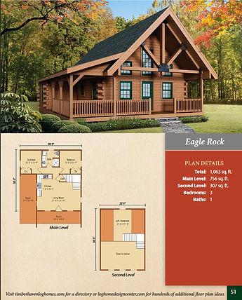 Timberhaven Eagle Rock Model