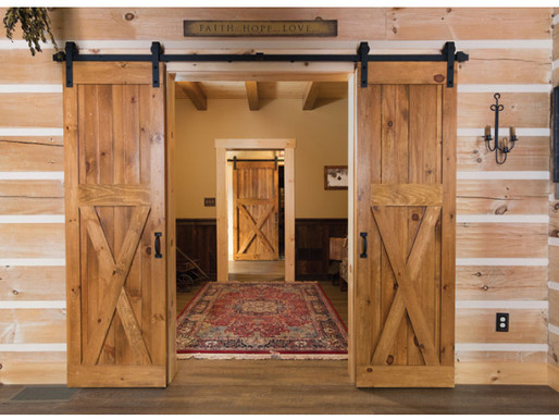 Barn Door Kits from Timberhaven Log & Timber Homes