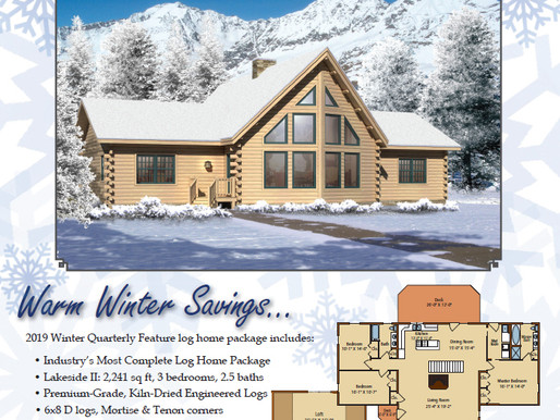 Timberhaven Log & Timber Homes Winter Promo