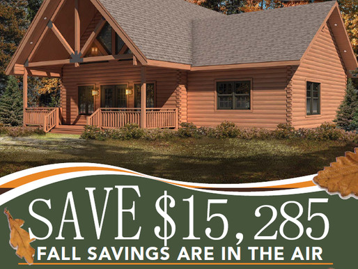 Fall Savings in the Air
