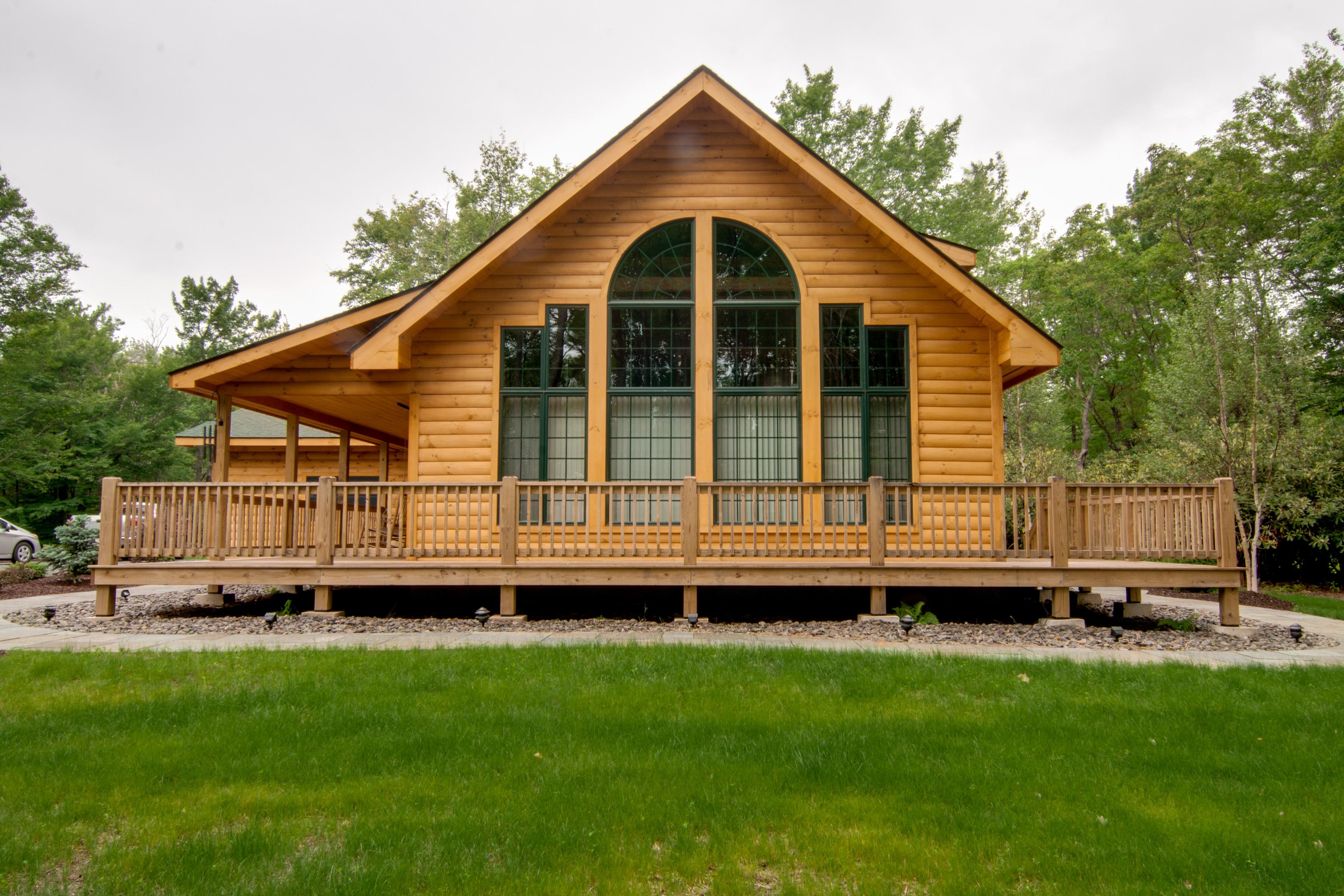 Log cabin plans maine