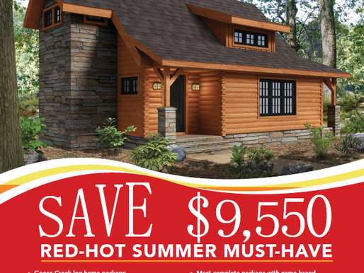 2017 Summer Feature Home Timberhaven Log & Timber Homes, Goose Creek Model