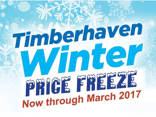 Timberhaven Winter Freeze Promotion