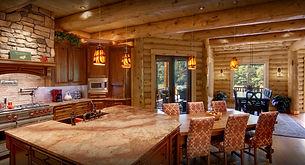 Timberhaven Log Home Interior