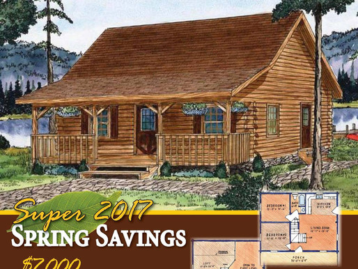 Timberhaven Log & Timber Homes April Special