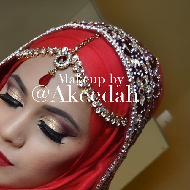 #bridal #makeup #Asian #bengali #bride #client