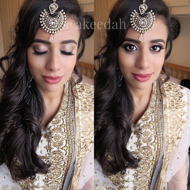 Simple, classy makeup on the beautiful _lil_moonash for her cousins wedding! Hope to see you in Pari