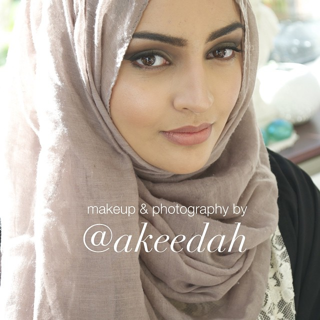 Makeup on the natural beaut _raheela_khanum, completely raw unedited pic (apart from watermark).