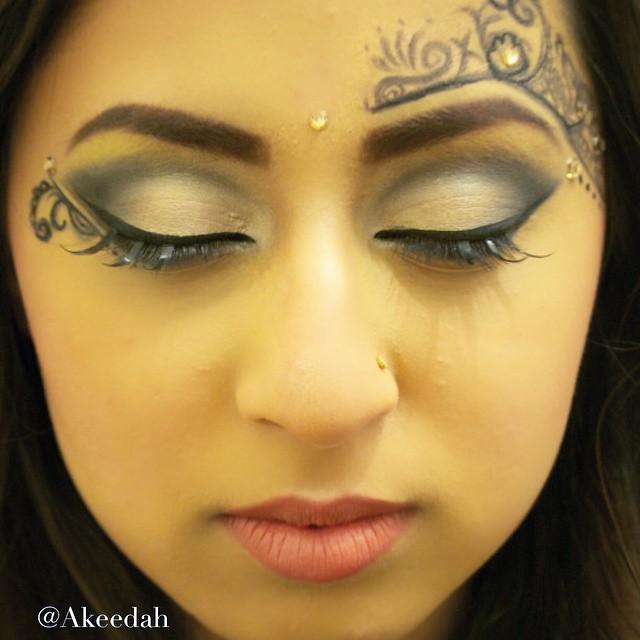 #makeup #masquerade #inspired