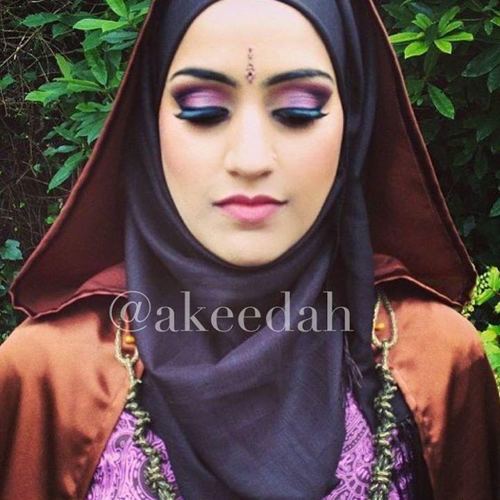 #tbt #photoshoot #makeup #purple #cloaks
