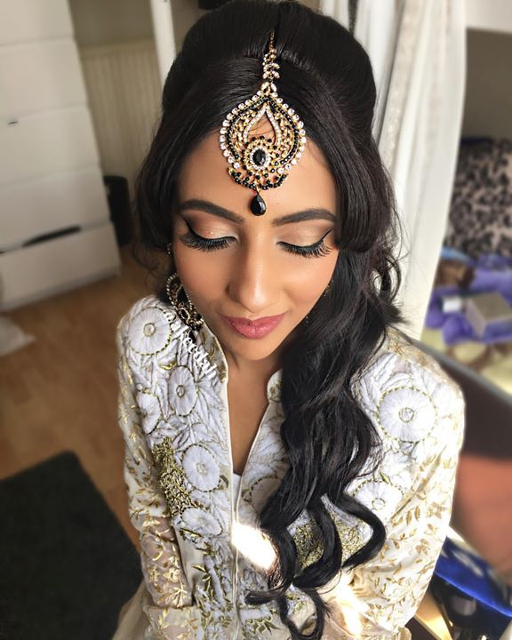 My beautiful bride of the day for her Nikah ceremony