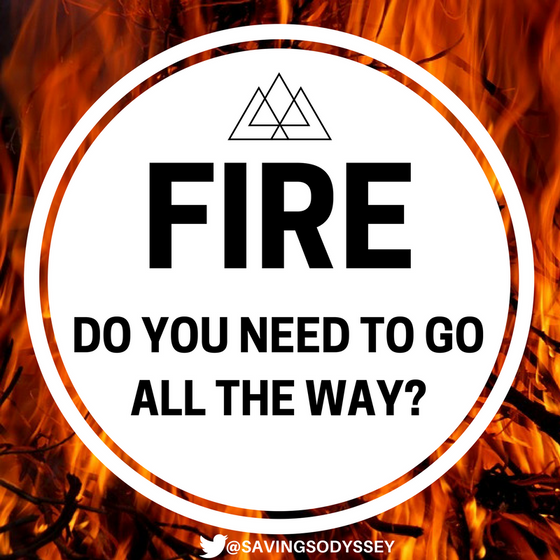 FIRE: Do you need to go all the way?